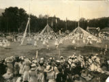 Children dancing around the may poles, Kentfield May Day Celebration, circa 1911 [photograph]